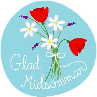 Glad midsommar ja